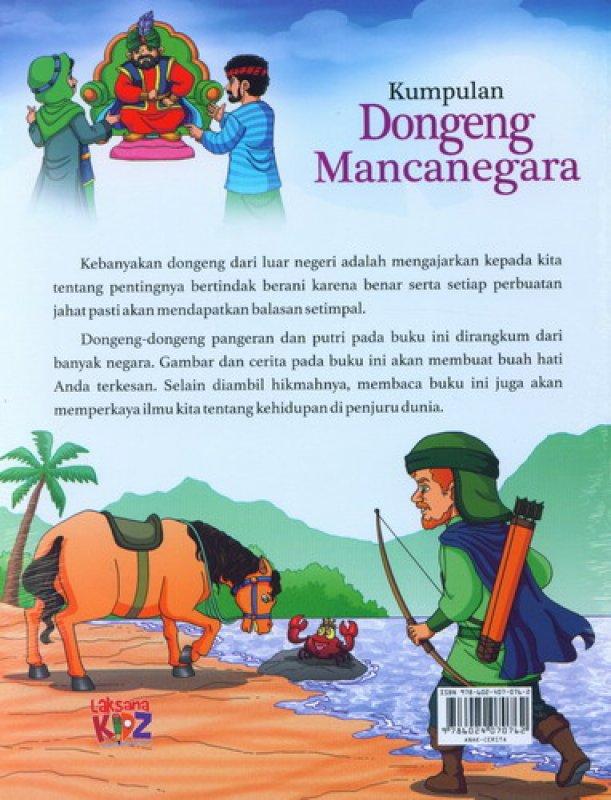 Cover Belakang Buku Kumpulan Dongeng Mancanegara