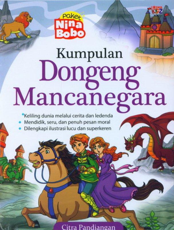 Cover Buku Kumpulan Dongeng Mancanegara