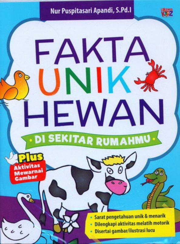 Cover Buku Fakta Unik Hewan Di Sekitar Rumahmu