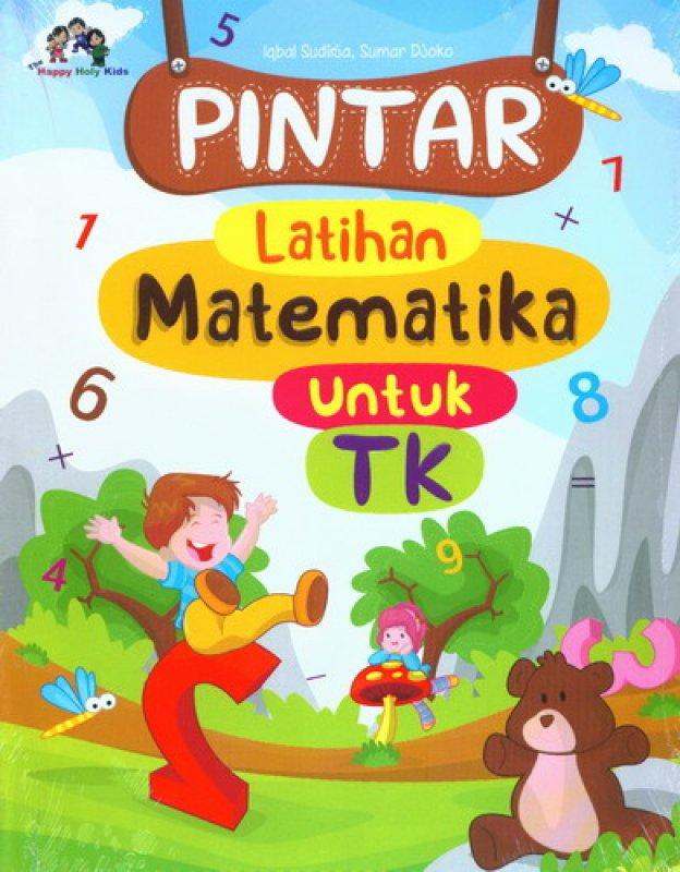 Cover Buku Pintar Latihan Matematika Untuk TK