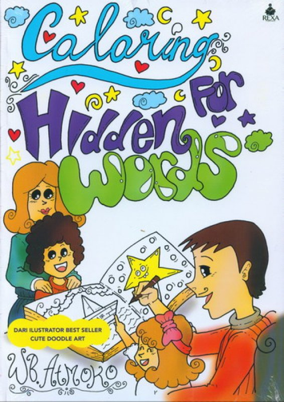 Cover Buku Coloring For Hidden Words