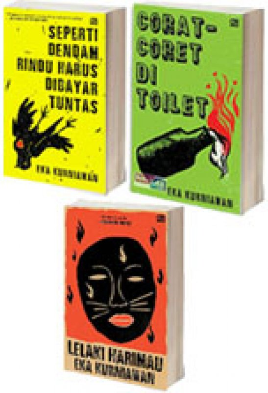 Cover Belakang Buku Paket Buku Eka Kurniawan 2