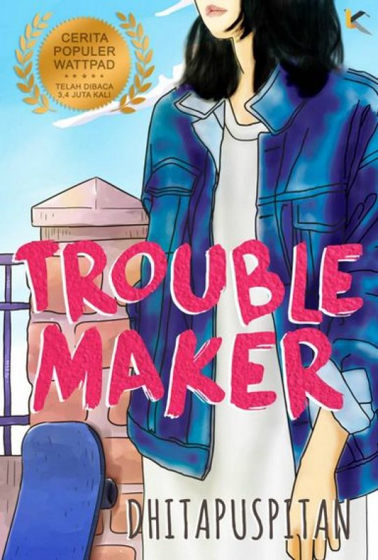 Cover Buku Troublemaker