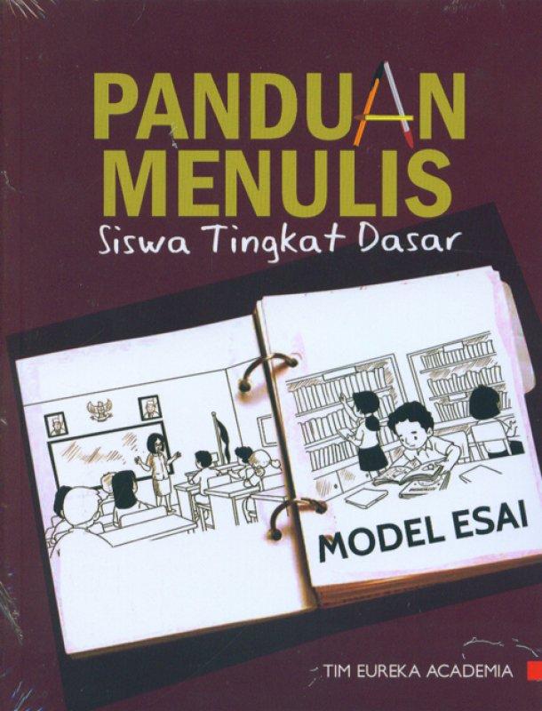 Cover Buku Panduan Menulis Siswa Tingkat Dasar