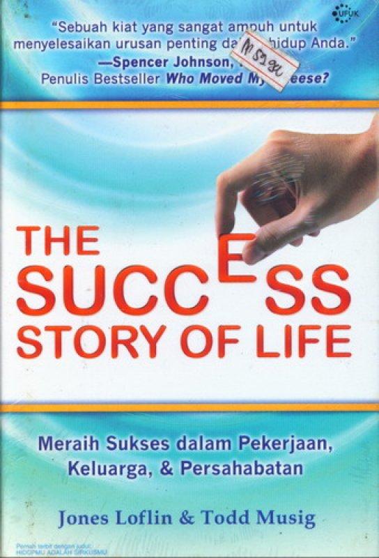 Cover Buku The Success Story Of Life [HC]