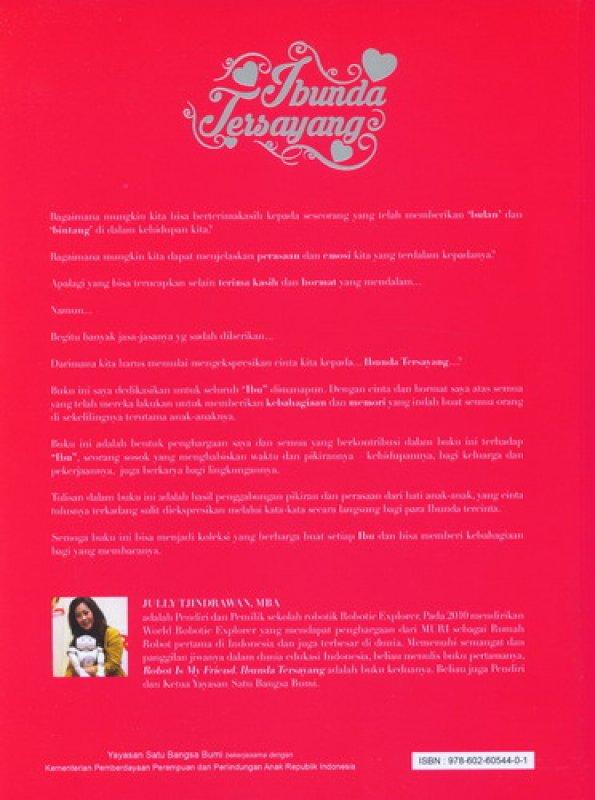 Cover Belakang Buku Ibunda Tersayang (Disc 50%)