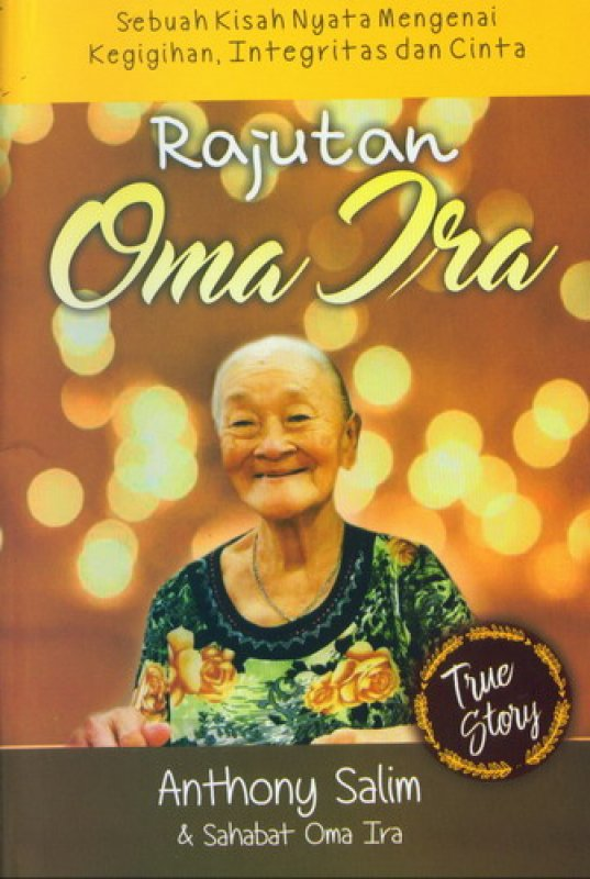 Cover Buku Rajutan Oma Ira [True Story]