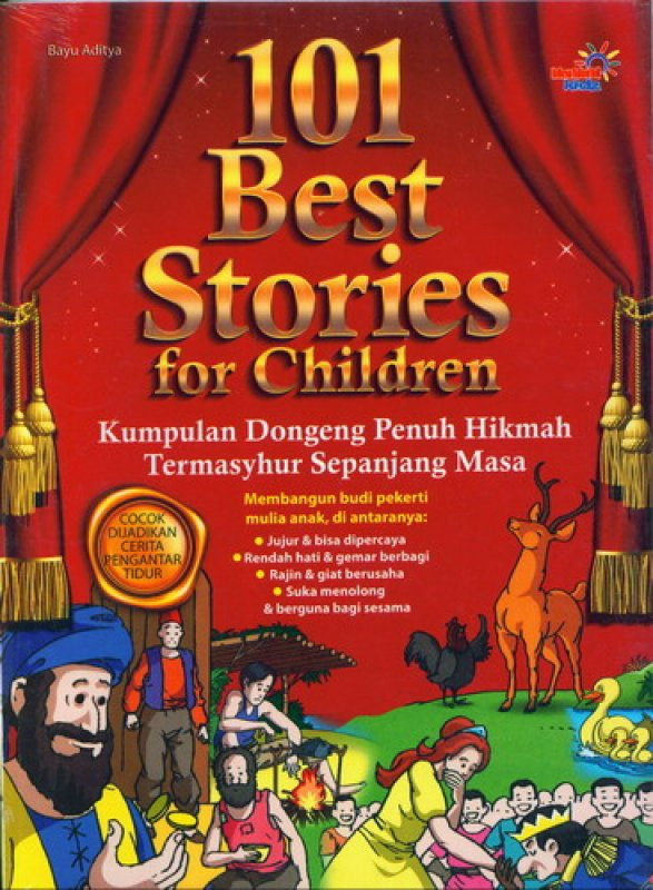 Cover Buku 101 Best Stories For Children