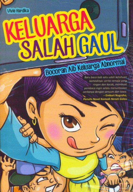 Cover Buku Keluarga Salah Gaul