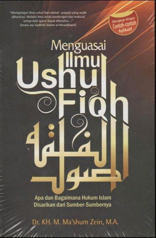 Cover Buku Menguasai Ilmu Ushul Fiqh