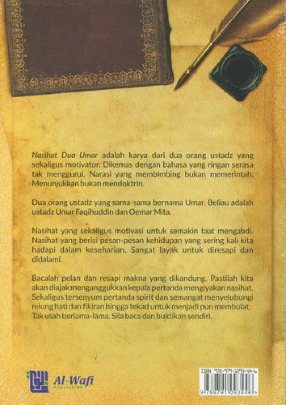 Cover Belakang Buku Hikmah 2 Umar