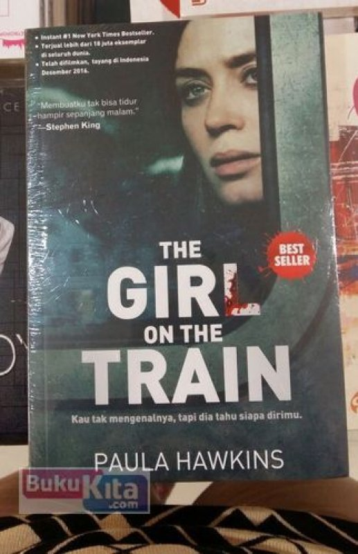 Cover Buku The Girl On The Train [Promo Spesial]