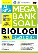 All New Mega Bank Soal Biologi SMA Kelas X, XI, & XII (Promo Best Book)