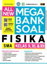ALL NEW MEGA BANK SOAL FISIKA SMA KELAS X, XI, & XII (Promo Best Book)
