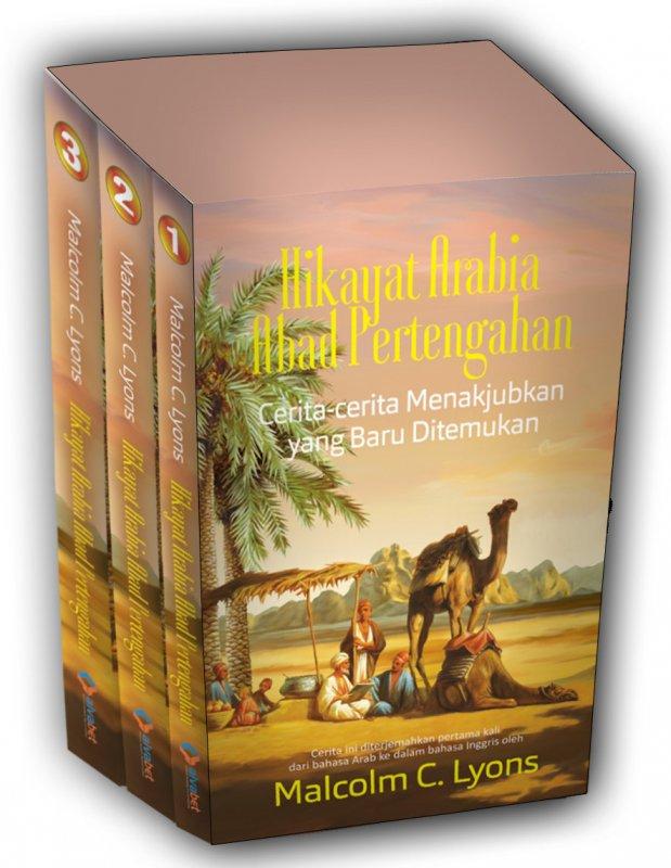 Cover Buku Hikayat Arabia Abad Pertengahan: Cerita-cerita Menakjubkan yang Baru Ditemukan (2017)