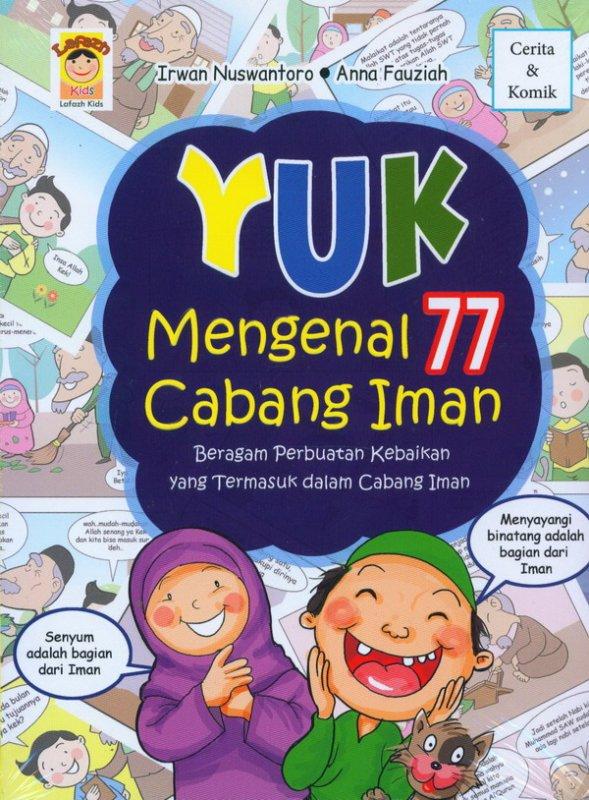 Cover Buku Yuk Mengenal 77 Cabang Iman