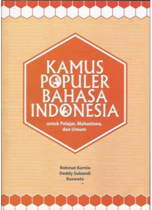 Cover Buku Kamus Populer Bahasa Indonesia