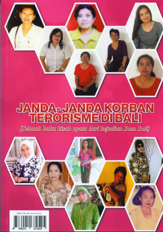 Cover Buku Janda-Janda Korban Terorisme Di Bali (Sebuah buku kisah nyata dari kejadian Bom Bali) (Disc 50%)