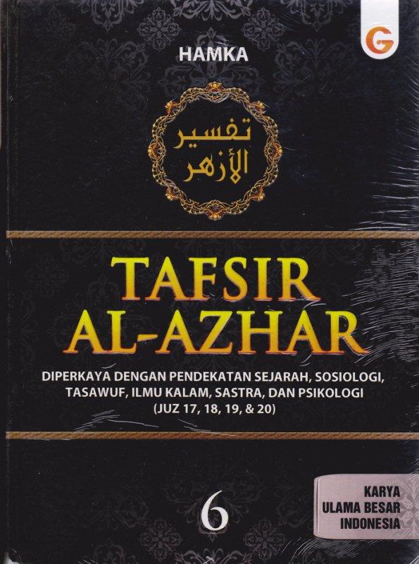 Cover Buku Tafsir Al-Azhar Jilid 6