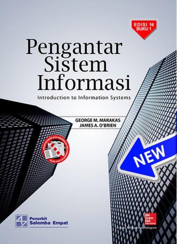 Cover Buku Pengantar Sistem Informasi (e16) 1