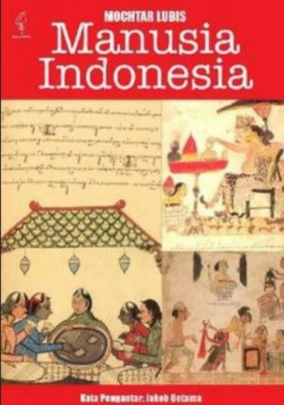 Cover Buku Manusia Indonesia (Mochtar)