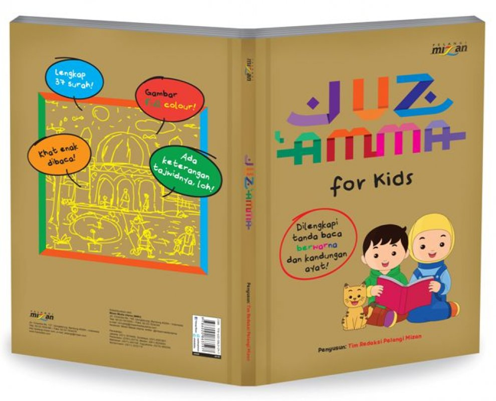 Cover Buku Juz Amma For Kids-Hc