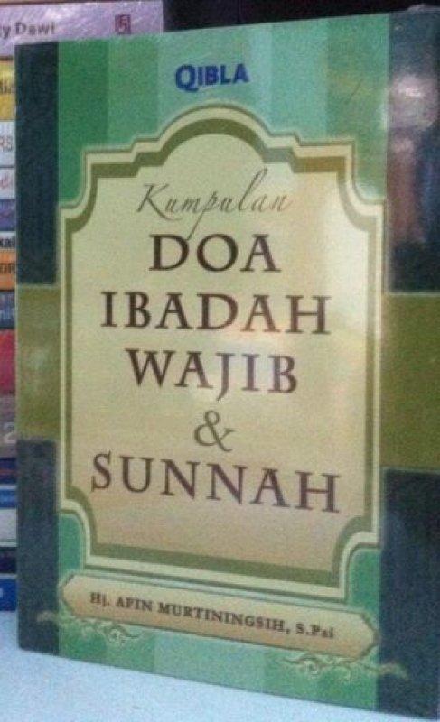 Cover Buku Kumpulan Doa Ibadah Wajib dan Sunnah (Ramadhan_2017)