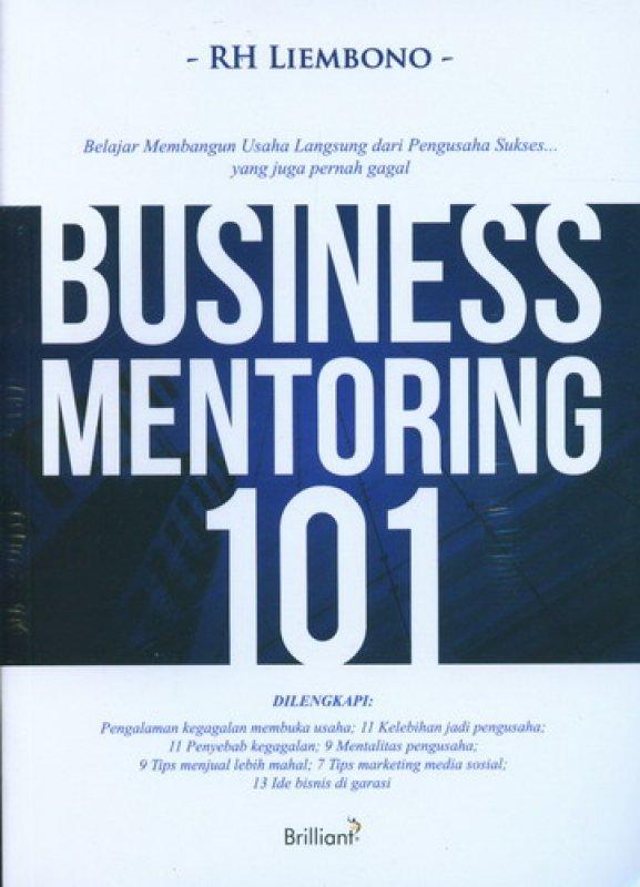 Cover Buku Business Mentoring 101