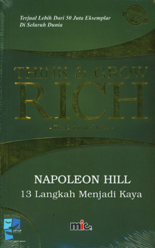 Cover Buku Think & Grow Rich [Soft Cover]