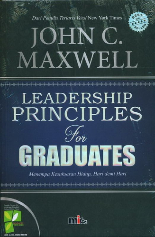 Cover Buku Leadership Principles For Graduates