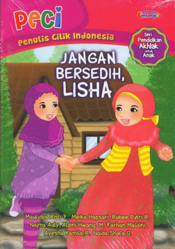 Cover Buku Jangan Bersedih Lisha