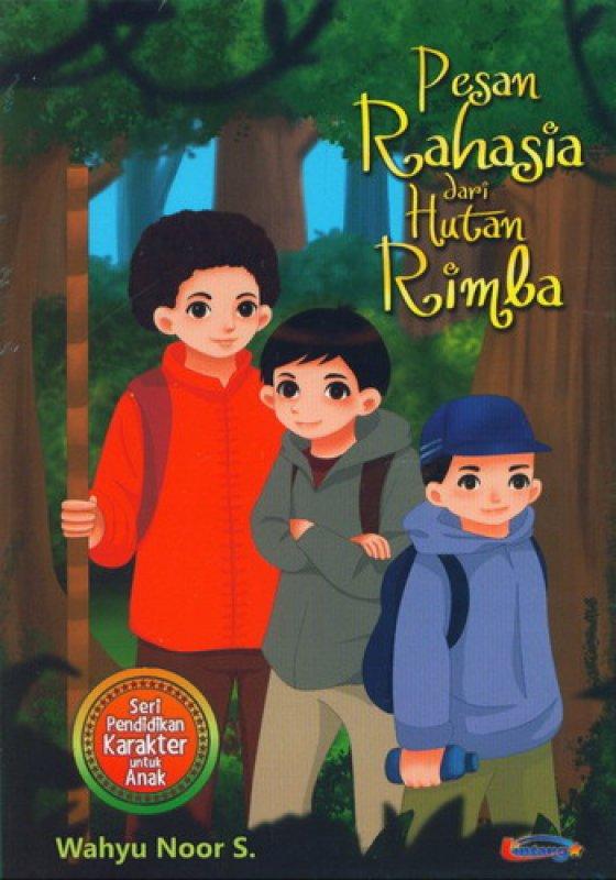 Cover Buku Pesan Rahasia dari Hutan Rimba
