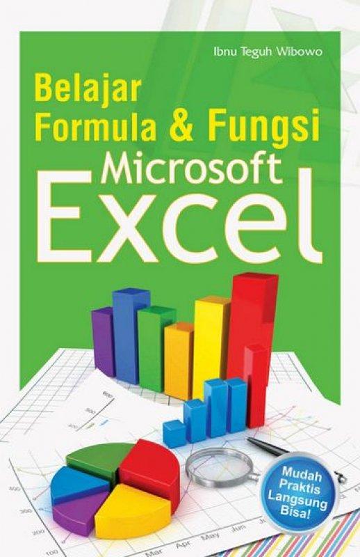 Cover Buku Belajar Formula & Fungsi Microsoft Excel