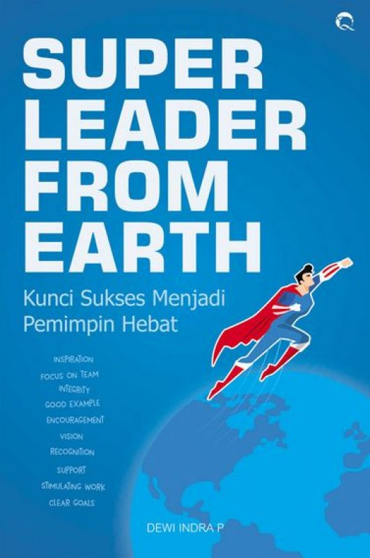 Cover Buku Super Leader From Earth