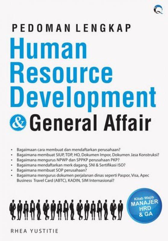 Cover Buku Pedoman Lengkap Human Resource Development & General Affair