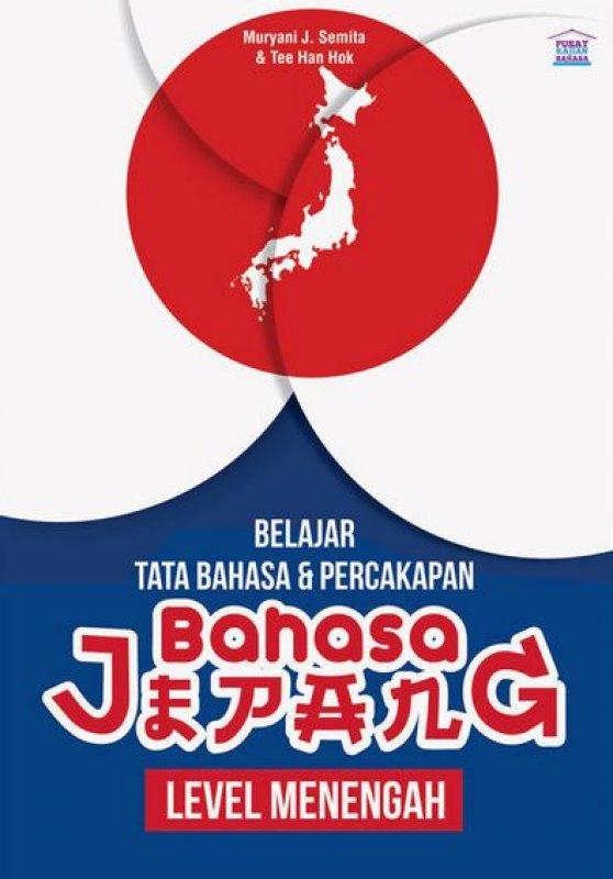 Cover Buku Belajar Tata Bahasa & Percakapan Bahasa Jepang Level Menengah