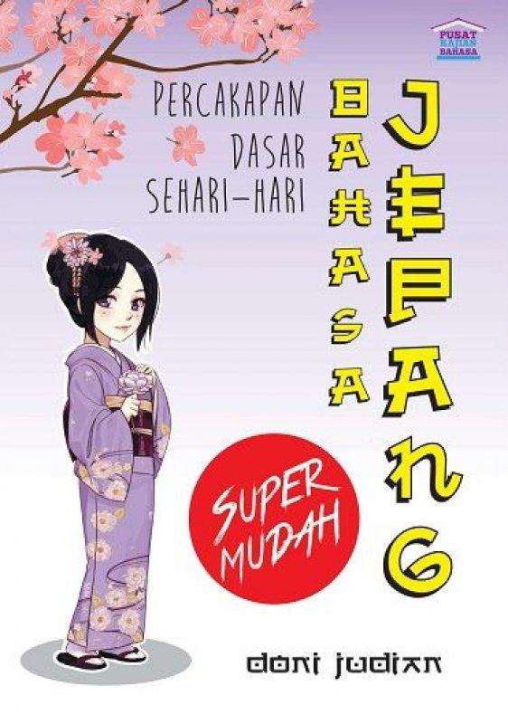 Cover Buku Percakapan Dasar Bahasa Jepang Sehari-hari