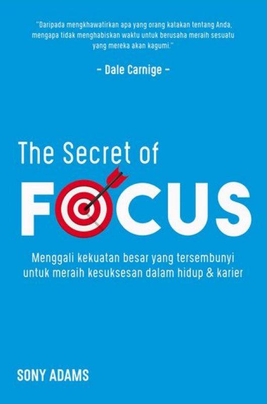Cover Buku The Secret of Focus
