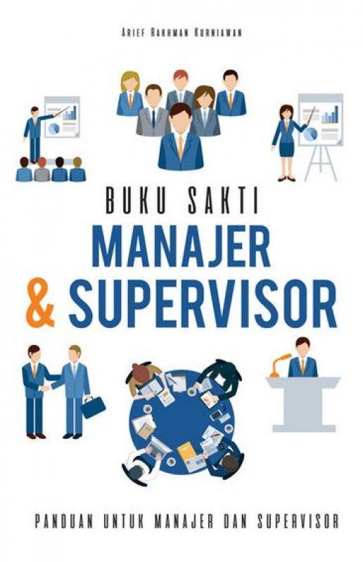 Cover Buku Buku Sakti Manajer & Supervisor