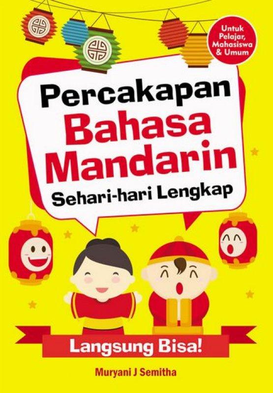 Cover Buku Percakapan Bahasa Mandarin Sehari-hari Lengkap
