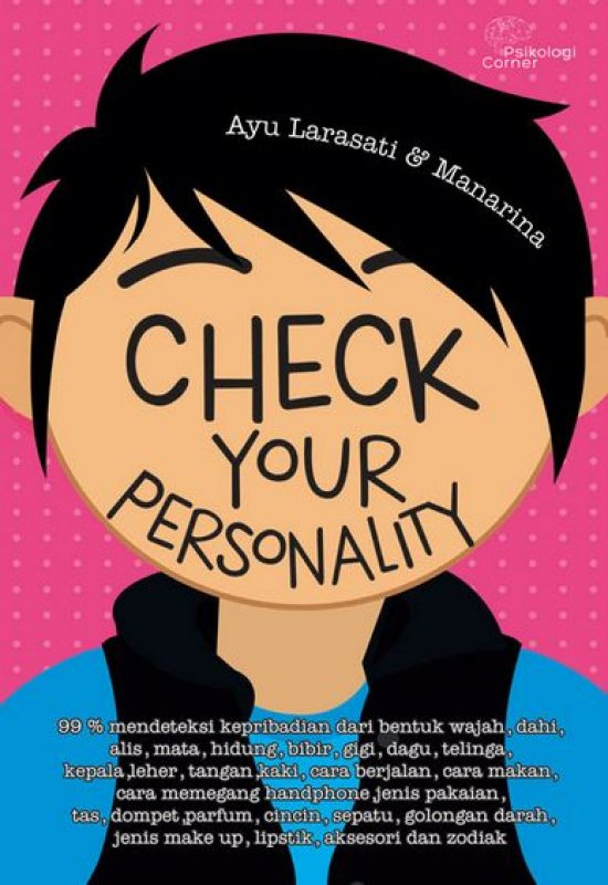 Cover Buku Check Your Personality