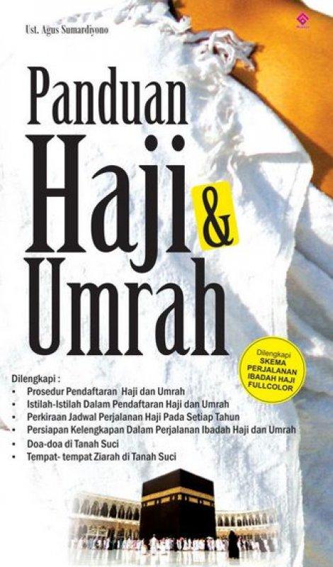Cover Buku Panduan Haji & Umrah