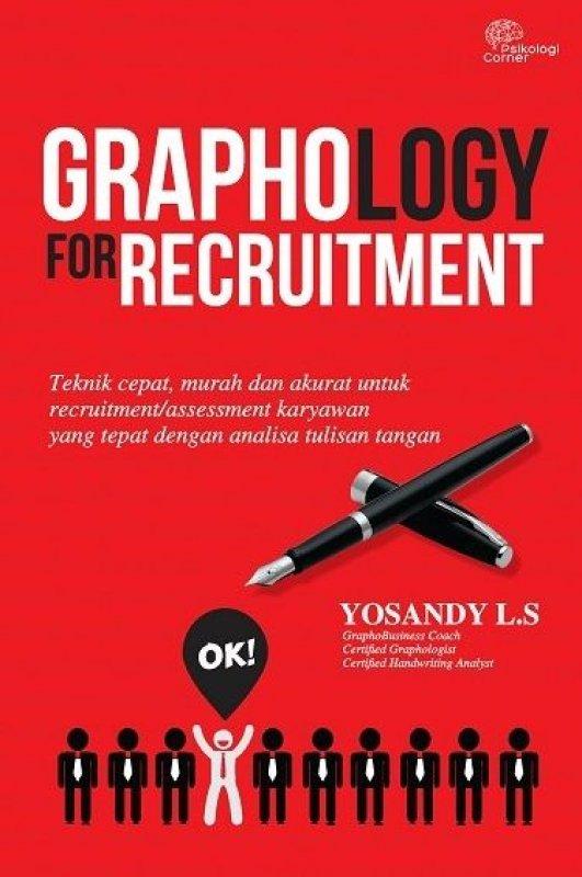 Cover Buku Graphology For Recruitment