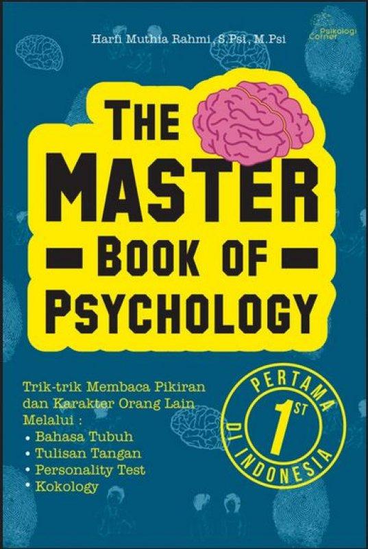 Cover Buku The Master Book of Psychology