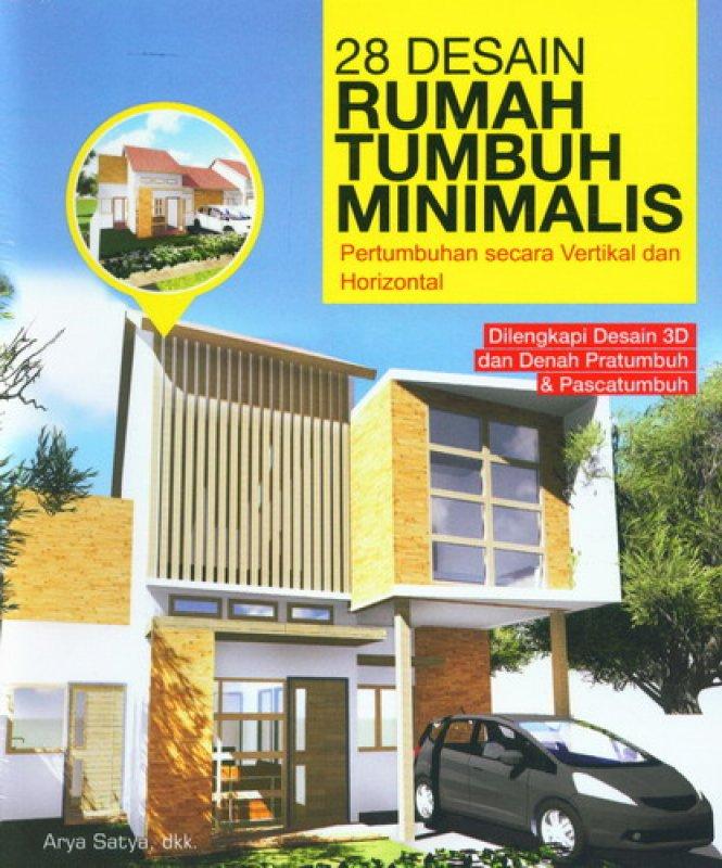 Cover Buku 28 Desain Rumah Tumbuh Minimalis