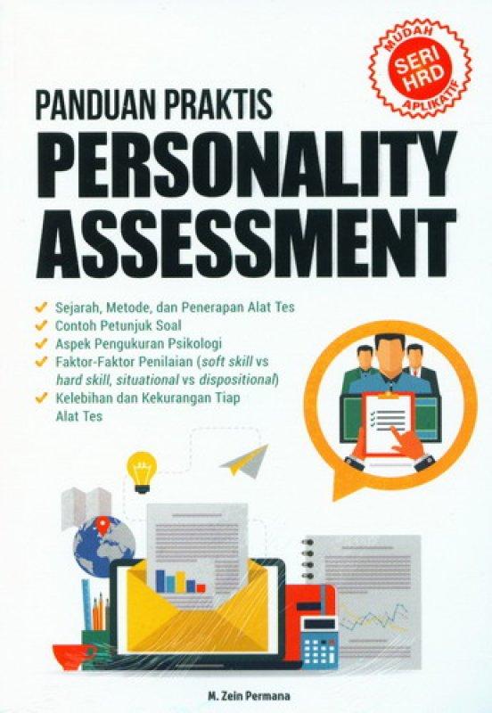 Cover Buku Panduan Praktis Personality Assesment