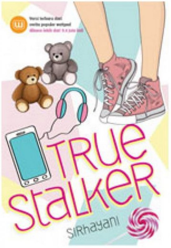 Cover Buku True Stalker