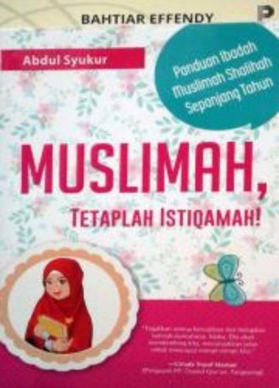 Cover Buku Muslimah Tetap Istiqamah: Panduan Ibadah Muslimah Shalihah Sepanjang Tahun