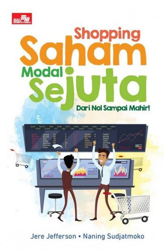 Cover Buku Shopping Saham Modal Sejuta (2017)