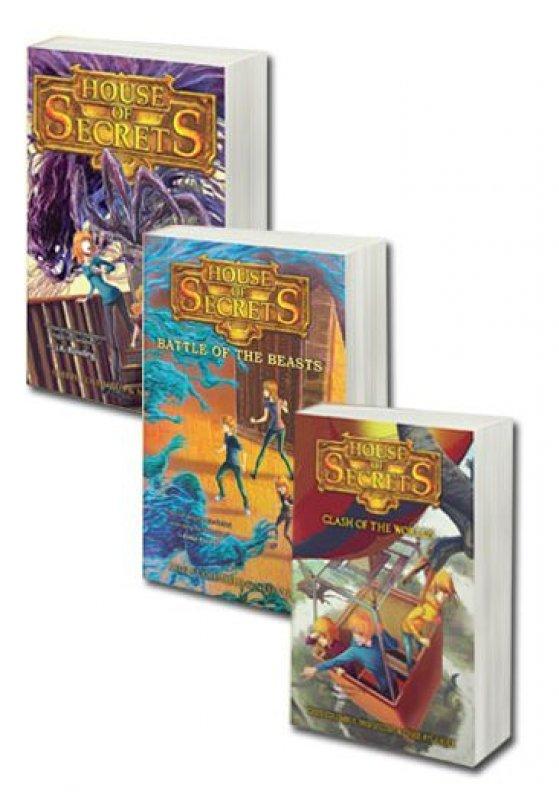 Cover Buku Seri House Of Secrets Jilid #1-#3
